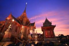 Paisagem da arquitetura no crepúsculo do pyre de funeral imagem de stock royalty free