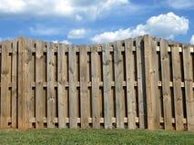 Paisagem da cerca da propriedade Foto de Stock Royalty Free