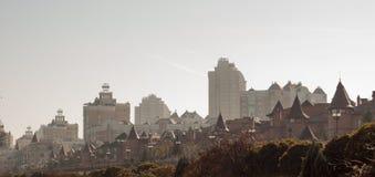Paisagem da cidade Fotos de Stock Royalty Free