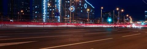 Paisagem da cidade de Minsk em Bielorrússia fotografia de stock