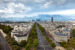 A paisagem da cidade de Paris, France Foto de Stock Royalty Free