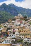Paisagem da cidade de Positano Italy Lugar famoso Foto de Stock