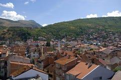 Paisagem da cidade, Prizren, Kosovo imagem de stock royalty free