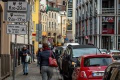 A paisagem da cidade Riga, Latvia fotos de stock royalty free