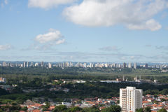 Paisagem 4 da cidade - Sao Jose Dos Campos Imagem de Stock