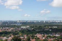 Paisagem 3 da cidade - Sao Jose Dos Campos Fotos de Stock Royalty Free