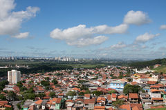 Paisagem da cidade - Sao Jose Dos Campos Foto de Stock Royalty Free