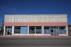 Paisagem da construção abandonada na cidade vazia Imagem de Stock Royalty Free
