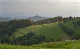Paisagem da cordilheira de Eslovênia Fotografia de Stock Royalty Free