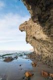Paisagem da costa de Cabo de Gata Imagens de Stock Royalty Free