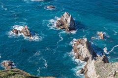 Paisagem da costa de Califórnia Foto de Stock
