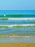 Paisagem da costa de mar Imagens de Stock Royalty Free