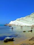 Paisagem da costa de mar Foto de Stock Royalty Free