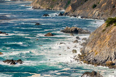 Paisagem da Costa do Pacífico dos EUA, Califórnia foto de stock