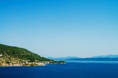 Paisagem da Croácia Fotos de Stock Royalty Free