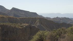paisagem da Deserto-montanha Almeria, Spain vídeos de arquivo