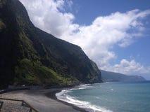 Paisagem da Dinamarca Madeira/do ilha de Paisagem na ilha de Madeira Foto de Stock Royalty Free