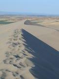 Paisagem da duna de areia Fotografia de Stock Royalty Free