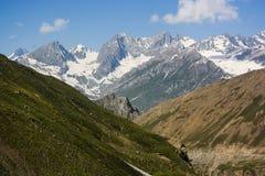 Paisagem da escala de Himalaya no verão Foto de Stock Royalty Free