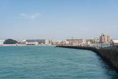Paisagem da Espanha de Cadiz Andalucia foto de stock