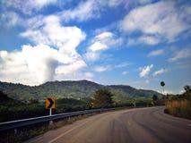 Paisagem da estrada Fotografia de Stock