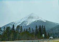 Paisagem da estrada de Colorado Imagem de Stock