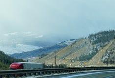 Paisagem da estrada de Colorado Imagens de Stock Royalty Free