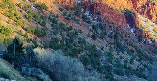 Paisagem da estrada de Colorado Fotografia de Stock Royalty Free
