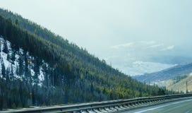 Paisagem da estrada de Colorado Imagens de Stock