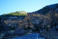 Paisagem da estrada de Colorado Foto de Stock