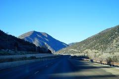 Paisagem da estrada de Colorado Fotografia de Stock