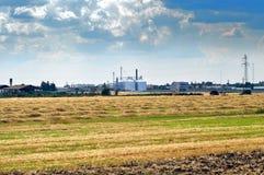 Paisagem da exploração agrícola Imagens de Stock Royalty Free