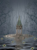 Paisagem da fantasia Fotos de Stock Royalty Free