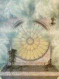 Paisagem da fantasia ilustração do vetor