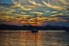 Paisagem da foto de HDR na Croácia Imagens de Stock Royalty Free