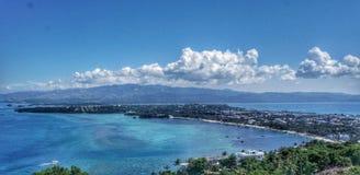 Paisagem da ilha de Boracay, Filipinas imagens de stock royalty free