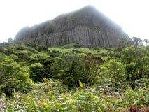 Paisagem da ilha de Flores Açores, Portugal imagem de stock