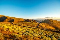 Paisagem da ilha de Gomera do La Imagens de Stock Royalty Free