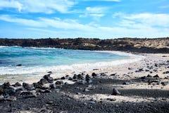 Paisagem da ilha de Lanzarote, Canaries Fotografia de Stock Royalty Free