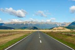 Paisagem da ilha sul, Nova Zelândia Foto de Stock