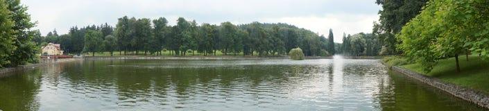 Paisagem da lagoa Imagem de Stock