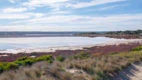 Paisagem da lagoa de Hutt fotos de stock royalty free