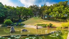 Paisagem da lagoa e da água Imagem de Stock