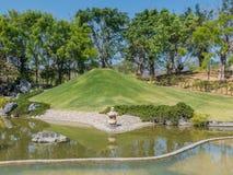 Paisagem da lagoa e da água Fotografia de Stock Royalty Free