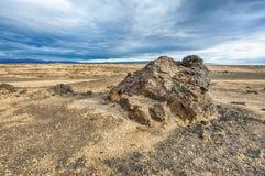 Paisagem da lava de Islândia Imagem de Stock