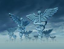 Paisagem da medicina ilustração stock
