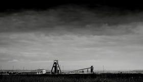 Paisagem da mina da mineração imagem de stock royalty free