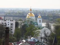 Paisagem da mola de Polotsk Imagens de Stock Royalty Free