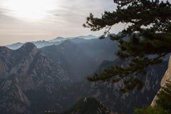 Paisagem da montagem Hua Imagens de Stock Royalty Free