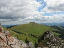 Paisagem da montanha Imagens de Stock